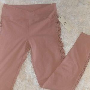 Cross waist legging